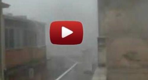 Allarme grandine Sicilia: ad Alcamo pietre di ghiaccio, decine di feriti! [Video]